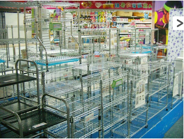 Wire Shelving on market