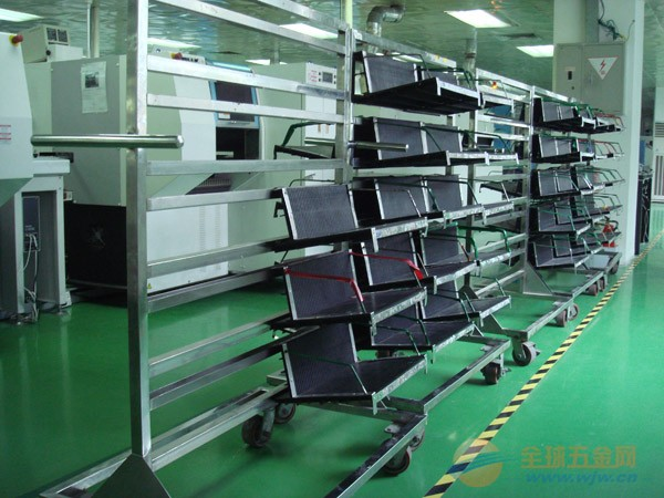 ESD PCB Magazine Basket Trolley