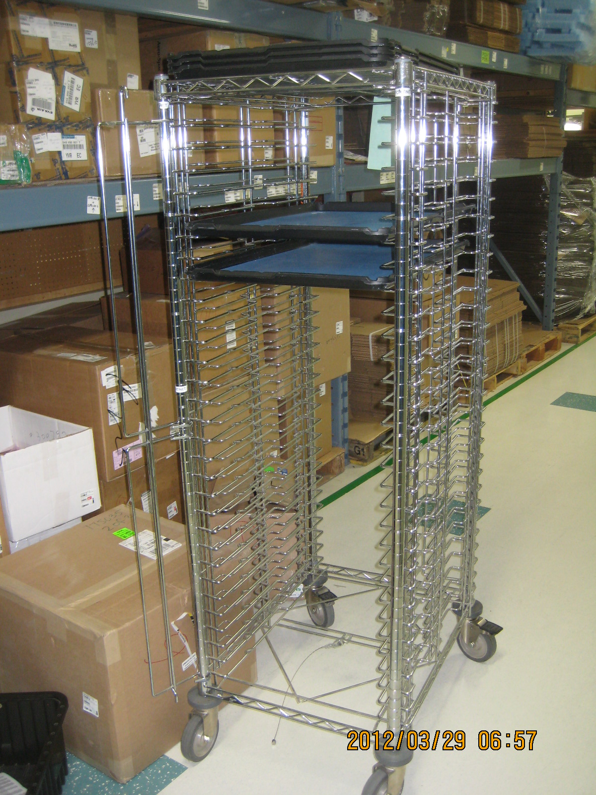ESD TRAY TROLLEY
